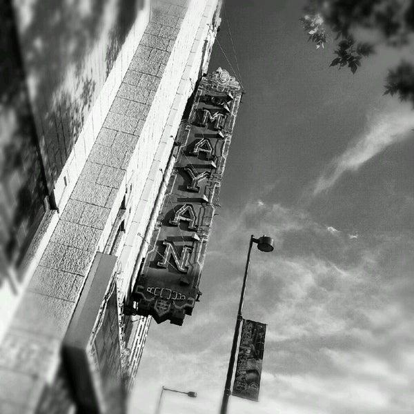 Photo taken at Mayan Theatre by Debra P. on 6/17/2012