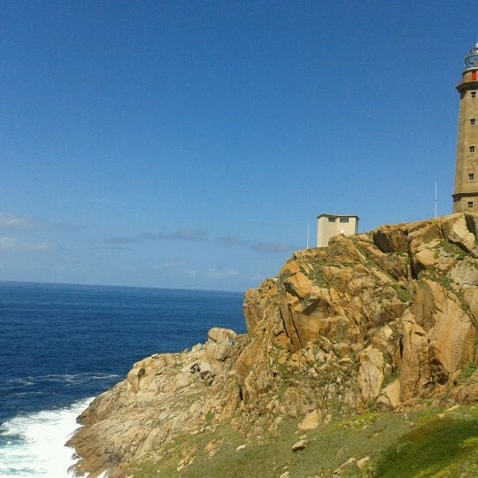 Photo taken at Faro de Cabo Vilán by Pedro B. on 8/25/2012