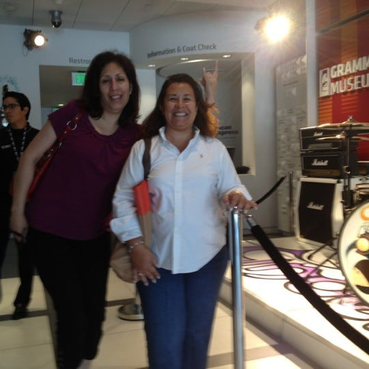 Photo taken at The GRAMMY Museum by Joanne P. on 4/22/2012