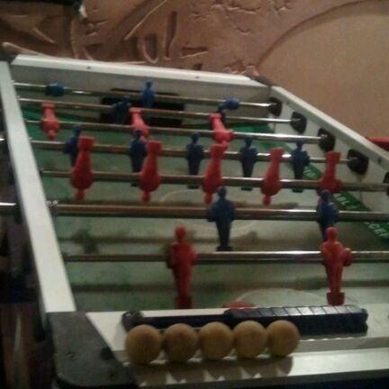 Игра в настрольный футбол - 50 р. за игру. Но никто не считает. Море удовольствия и хорошего настроения! :)