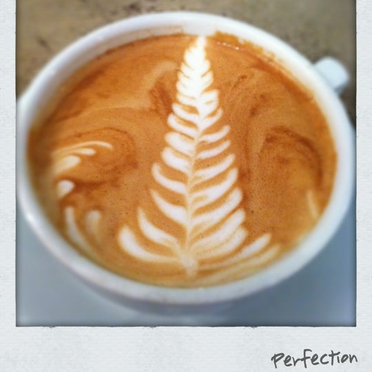 Photo taken at Bodhi Coffee by Monica L. on 2/16/2012