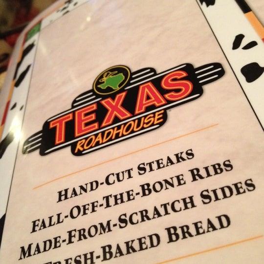 Photo taken at Texas Roadhouse by David K. on 2/10/2012