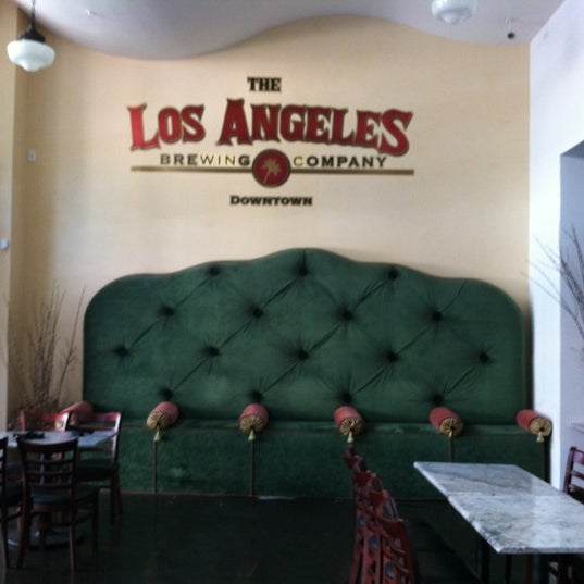 Photo taken at Los Angeles Brewing Company by Jonnathan B. on 7/22/2012