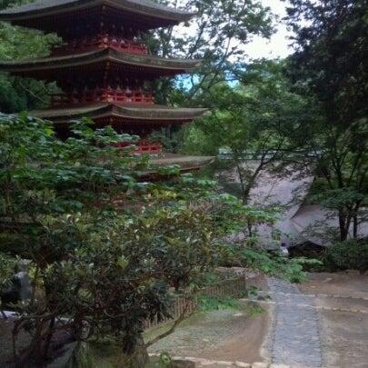 Photo taken at 室生寺 by Kitaguchi T. on 6/23/2012