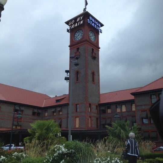 Photo taken at Union Station Amtrak (PDX) by Ian W. on 6/18/2012