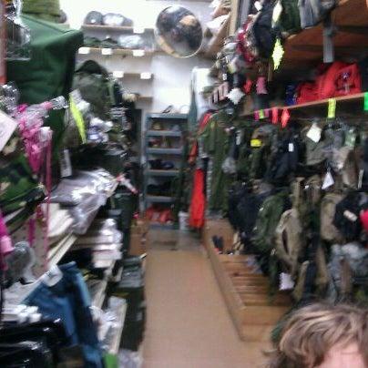 Photo taken at Stevens Creek Surplus by Dwight M. on 3/13/2012