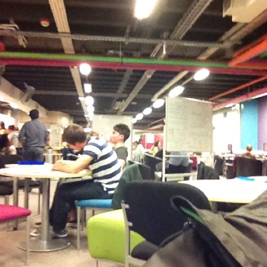 Photo taken at Northumbria University Library by Jay M. on 5/7/2012