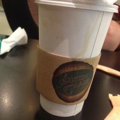Photo taken at Austin Chase Coffee by Li Sum on 8/11/2012