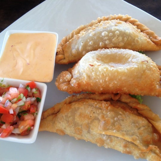 Love the Empanadas and the chipotle sauce it comes with! Machaca Beef is my FAV, must try!