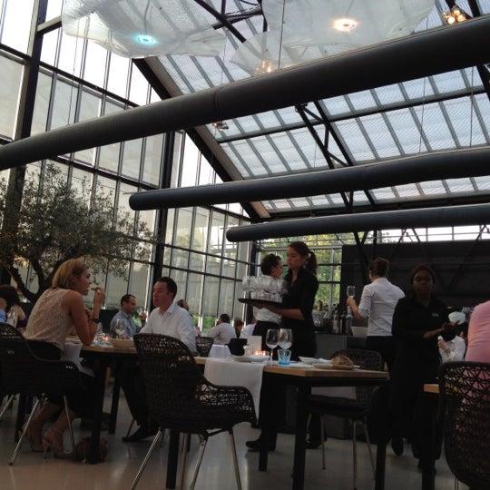 Photo taken at De Kas by vuquadro on 7/26/2012
