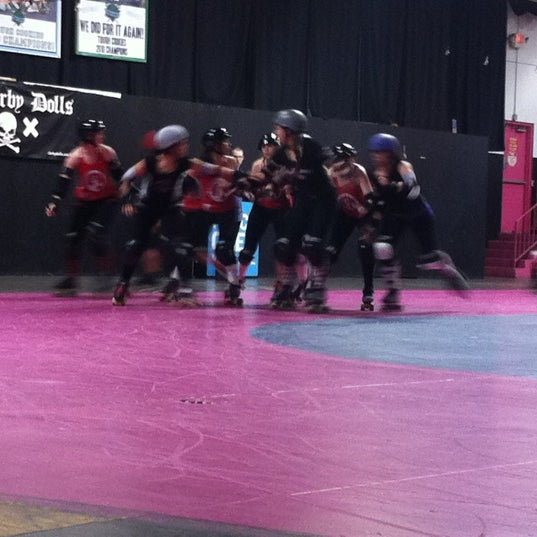 Photo taken at Doll Factory (L.A. Derby Dolls) by Dumptruck on 3/4/2012