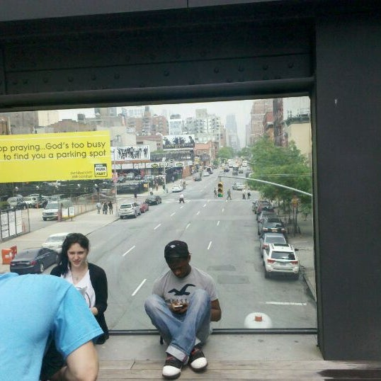 Photo taken at High Line 10th Ave Amphitheatre by Bradford C. on 5/25/2012