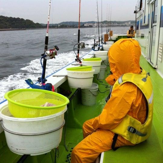 4/29/2012にMasami M.が金沢八景 忠彦丸 釣船・釣宿で撮った写真