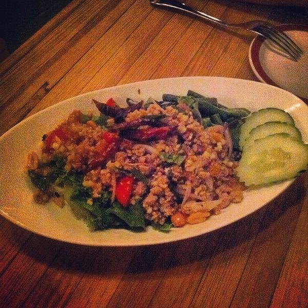 Foto tomada en Pure Thai Cookhouse por Ong A. el 9/8/2012