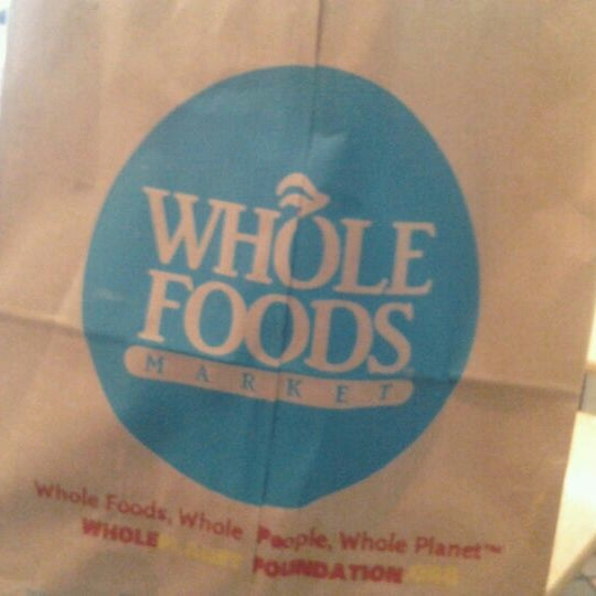 Photo taken at Whole Foods Market by Don T. on 4/26/2012