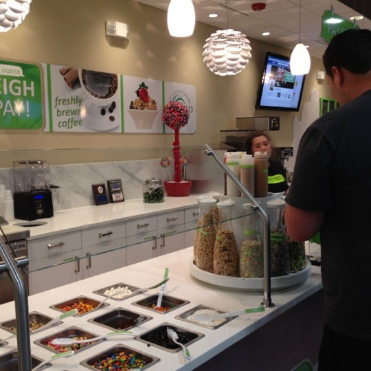 Photo taken at Let's YO! Yogurt by Dawn B. on 8/23/2012