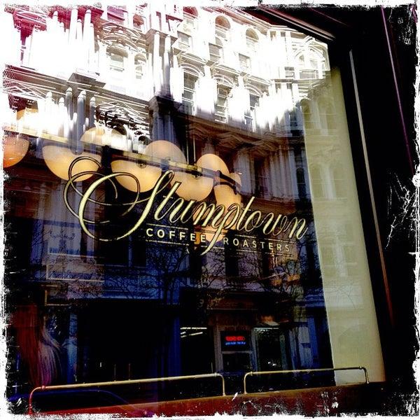 Photo taken at Stumptown Coffee Roasters by Allison M. on 4/7/2012
