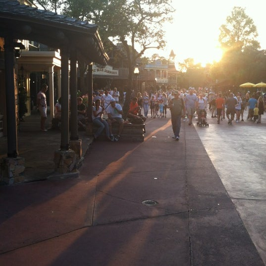 Photo taken at Frontierland by Gina A. on 4/9/2012