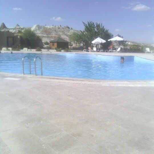 8/16/2012 tarihinde Birhan A.ziyaretçi tarafından Tourist Hotels & Resorts Cappadocia'de çekilen fotoğraf