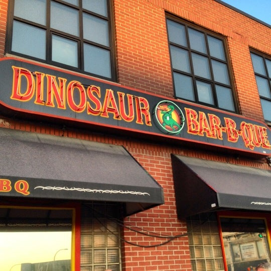 Photo taken at Dinosaur Bar-B-Que by Barbara R. on 8/22/2012