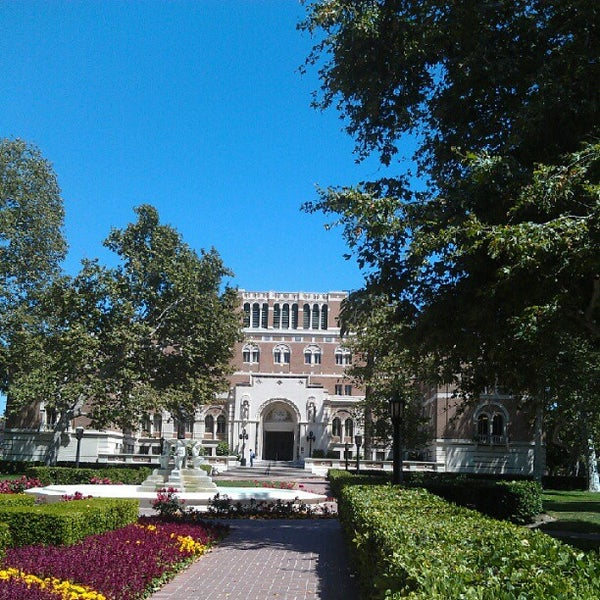 Photo taken at Doheny Memorial Library (DML) by Scott S. on 5/27/2012