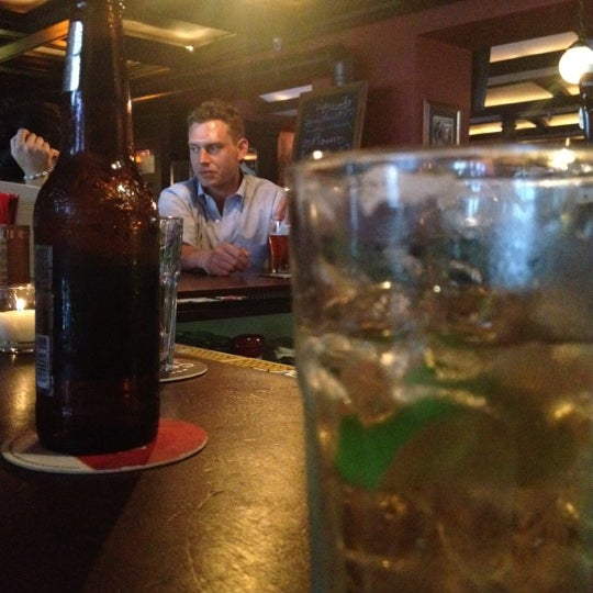 Photo taken at Central Bar by Mark J. on 7/25/2012