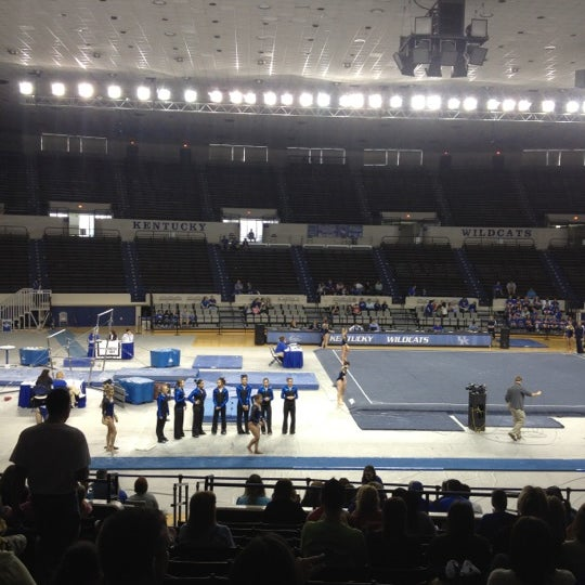 Photo taken at Memorial Coliseum by Bill R. on 3/11/2012