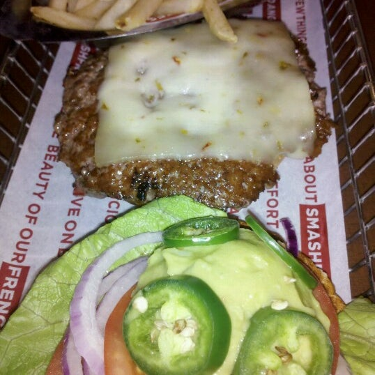 Photo taken at Smashburger by Justin B. on 8/11/2012