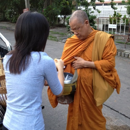 Photo taken at ลานใส่บาตร by Som O D. on 6/15/2012