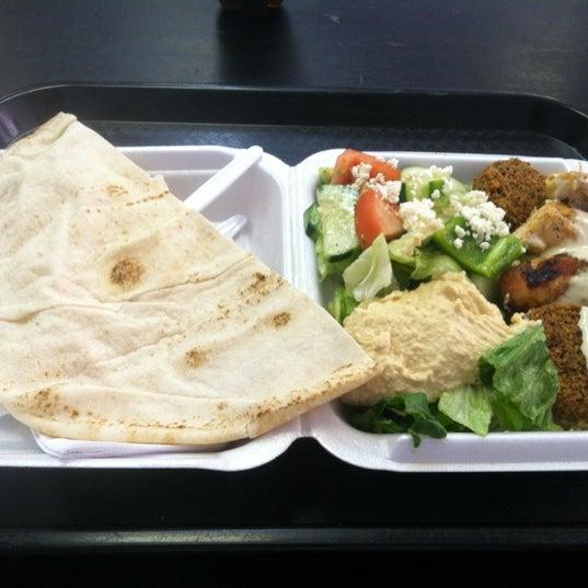Photo taken at Falafel King by Firat C. on 7/3/2012