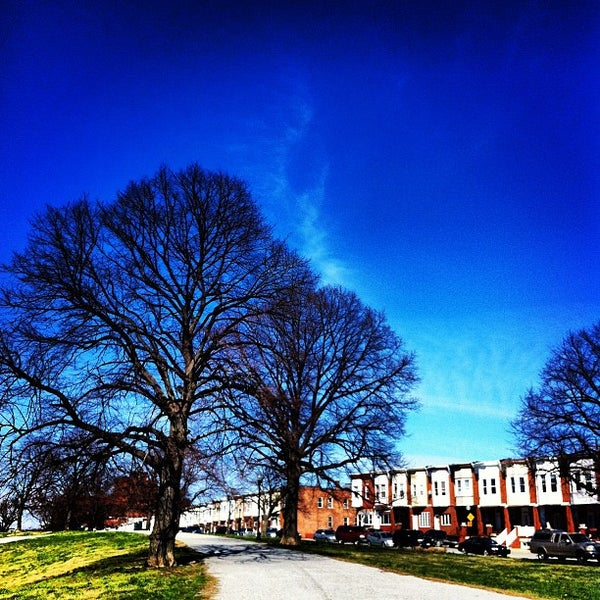 Photo taken at Patterson Park by GoCatGo …. on 3/10/2012