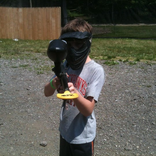 Photo taken at Badlandz Paintball Field by Andy P. on 5/19/2012