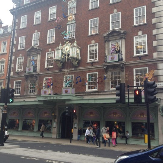 Photo taken at Fortnum & Mason by Volkan T. on 6/23/2012