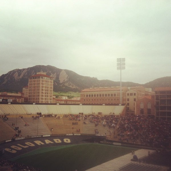 Photo taken at Folsom Field by MANO on 5/11/2012