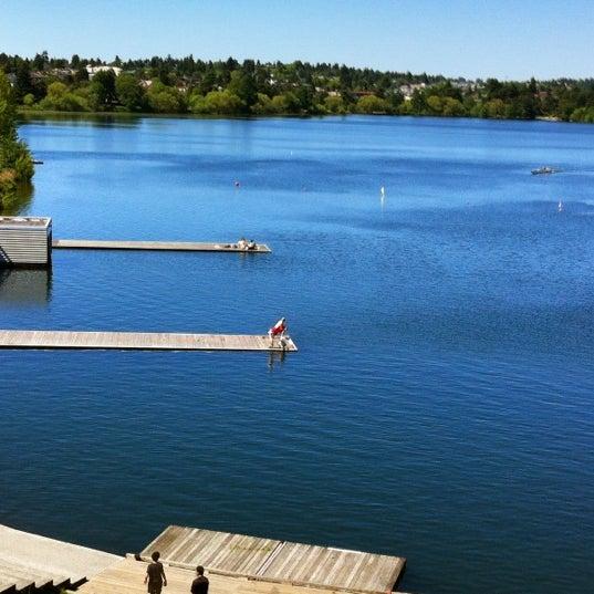 Photo taken at Green Lake Boathouse by Erik B. on 5/26/2012