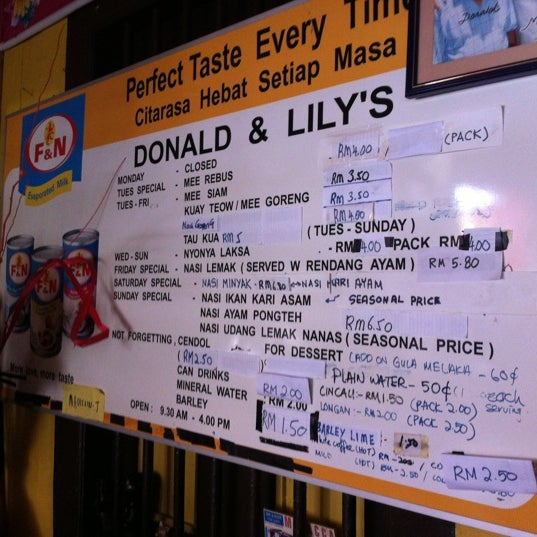 Photo taken at Donald & Lily Nyonya Food by Samantha W. on 4/29/2012