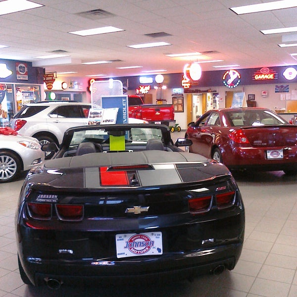 Johnson motors auto dealership in saint croix falls for General motors jobs dallas tx