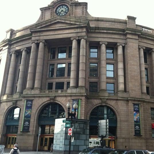 Photo taken at South Station Terminal (MBTA / Amtrak) by David W. on 8/2/2012