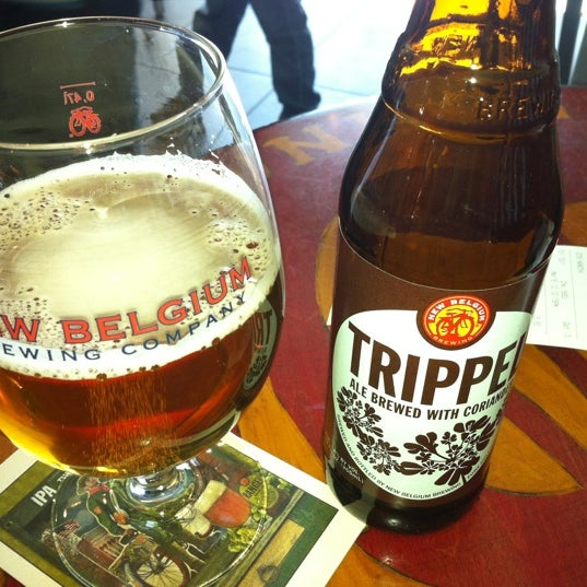 Photo taken at New Belgium Brewing Hub by Brian S. on 3/16/2012