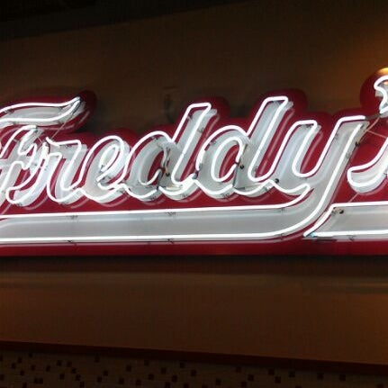Photo taken at Freddy's Frozen Custard and Steakburgers by Casey N. on 3/18/2012
