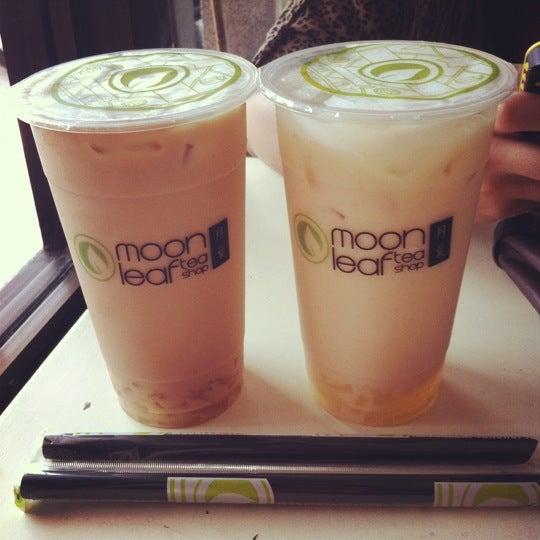 Photo taken at Moonleaf Tea Shop by John anthony on 7/5/2012