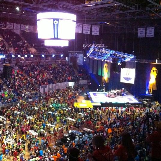Photo taken at Bryce Jordan Center by Jordan P. on 2/18/2012