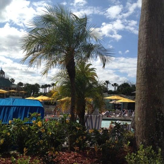 Photo taken at Marriott World Center Pool by Marina V. on 4/8/2012