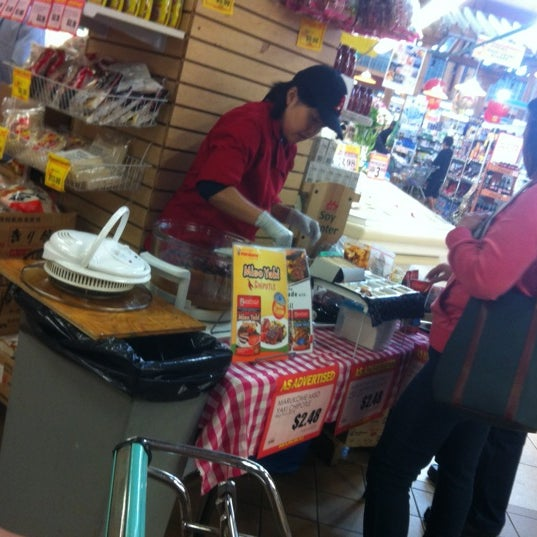 Photo taken at Marukai Market by Catherine M. on 3/11/2012