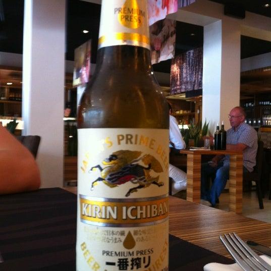 Photo taken at Zebra Café by Aleksey V. on 7/26/2012