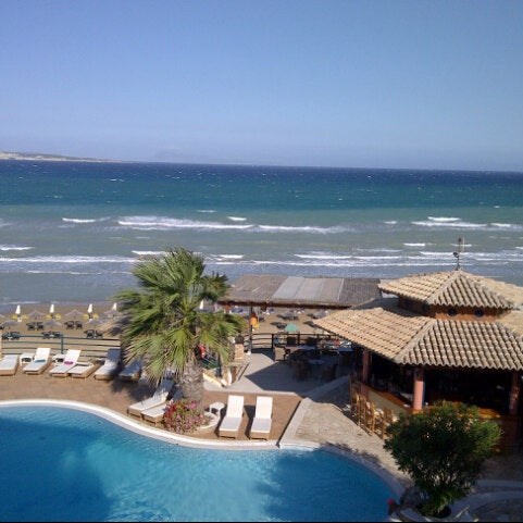 Photo taken at Delfino Blu Hotel by Bill G. on 8/27/2012