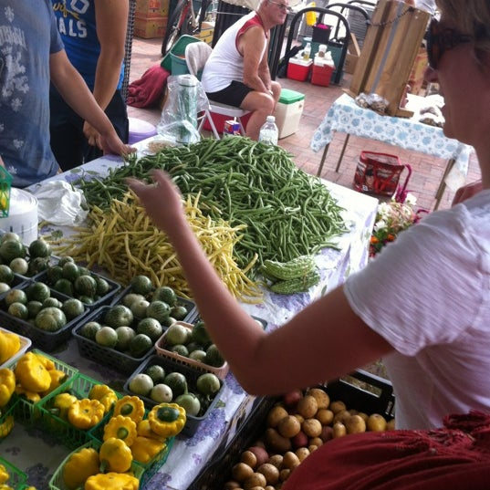 Photo taken at Dane County Farmers' Market by James H. on 8/4/2012