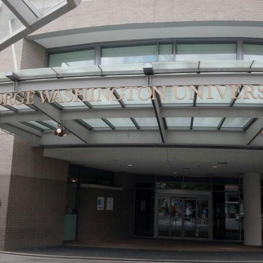 Photo taken at The George Washington University by Ashley C. on 8/12/2012