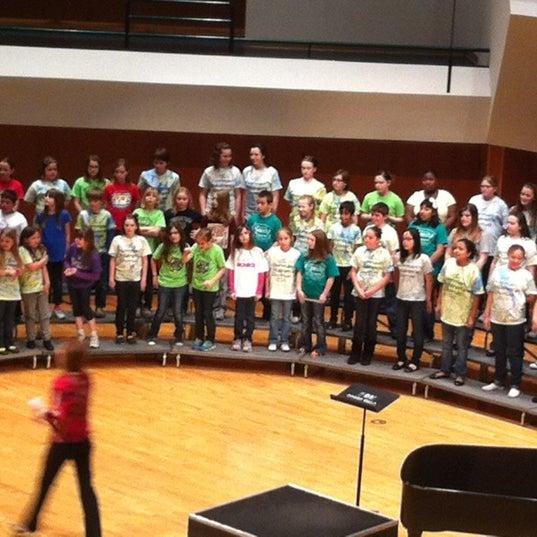 Photo taken at Catlett Music Center by Christen C. on 2/25/2012