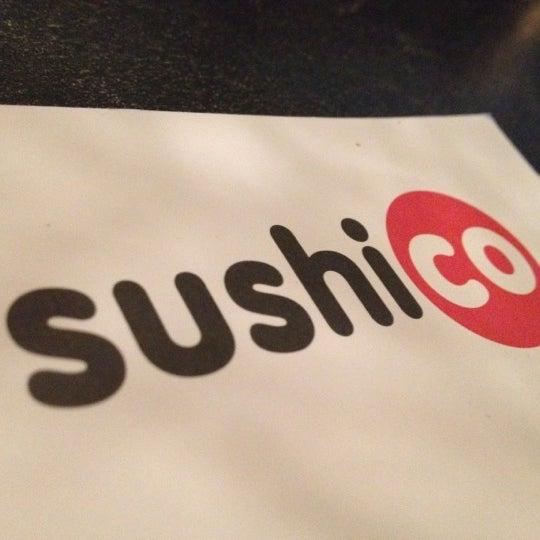 Photo taken at SushiCo by Zeynep I. on 3/3/2012